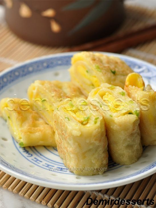 5 Delicious Healthy Desserts Recipe Pancake Roll Food Taiwanese Cuisine