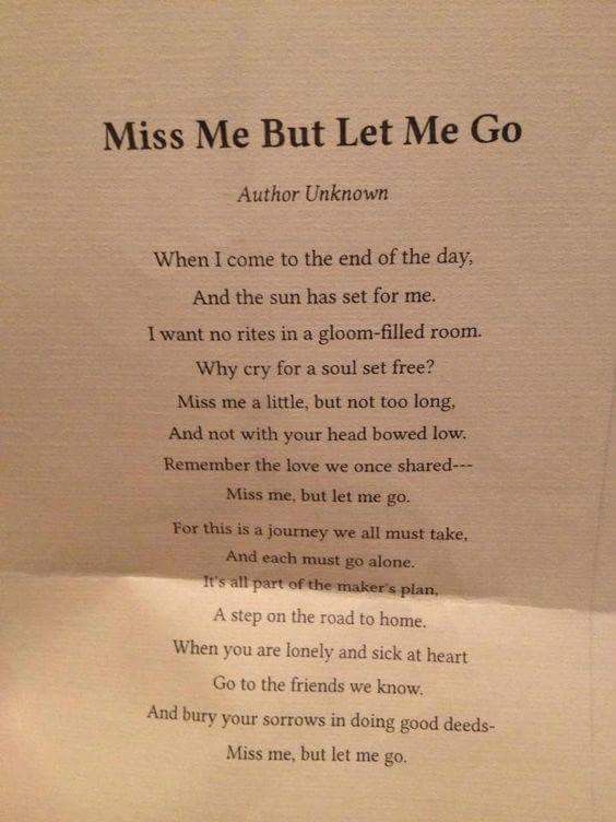 Pin By Ash On Quotes Funeral Poems Funeral Quotes Grief Quotes