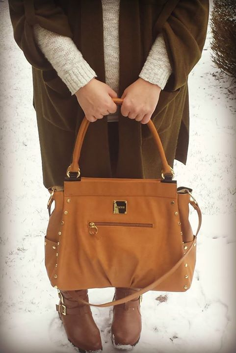 chloe red purse - Satchel style look using Carmen for Prima Miche base bags, rolled ...