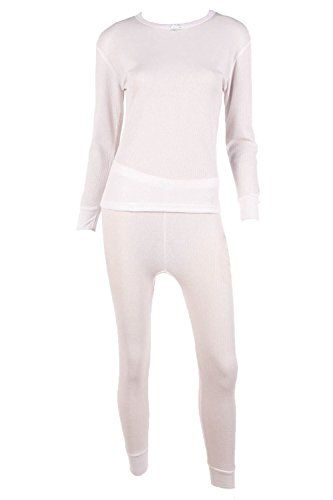 LIZA A MERCER WuHou Womens 100 Cotton Thermal Underwear Two Piece ...