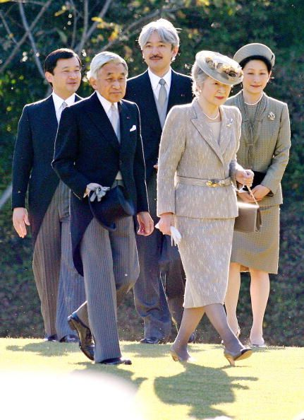 Empress Michiko and Princess Kiko, 2006