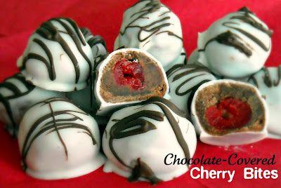Chocolate Covered Cherry Bites