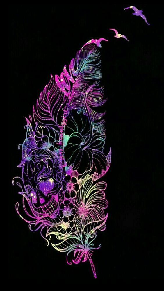 pink, violet, purple, graphic design, pattern, fractal art, iphone wallpaper