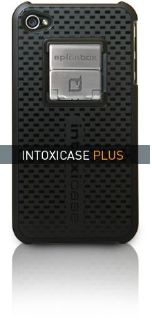 Intoxicase. Case comes with a built in bottle opener and a dedicated app that tracks beer data, etc. $35