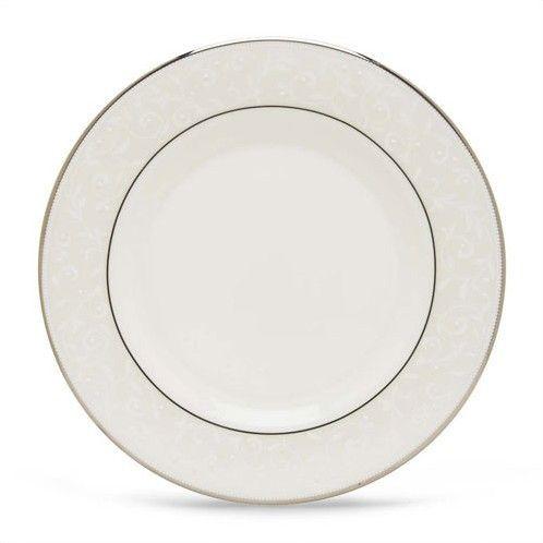 "Opal Innocence Silver 8"" Salad Plate"
