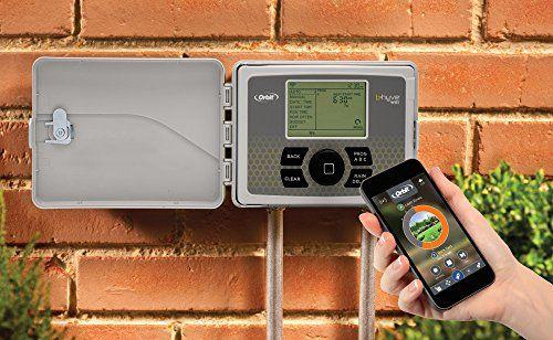 Orbit 57950 B Hyve Smart Indoor Outdoor 12 Station Wifi Sprinkler System Controller Compatible With Alexa Ad Sprinkler Controller Sprinkler System Sprinkler