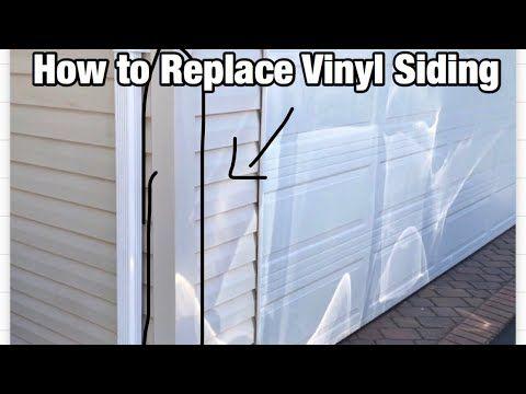 How To Replace Vinyl Siding Outside Corner Youtube Vinyl Siding Vinyl Siding Installation Replacing Vinyl Siding