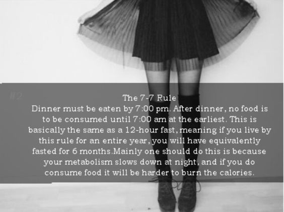 Love the legs and thigh highs. As for the quote, I've been doing well not eating after 6pm and having breakfast after 10:30am.:
