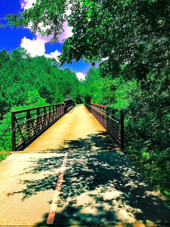 Download Free Photo - Silver Comet Bike Trail Flat Bridge - Bike Trail Free and Public Domain Stock Photo Download