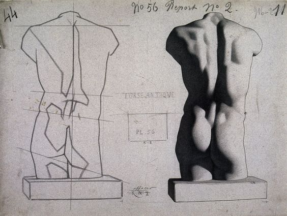 Old Master Drawing Bargue-Gérôme Drawing Course I - praxis