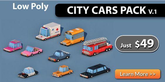 Cartoon Transport Cars v1 - 7
