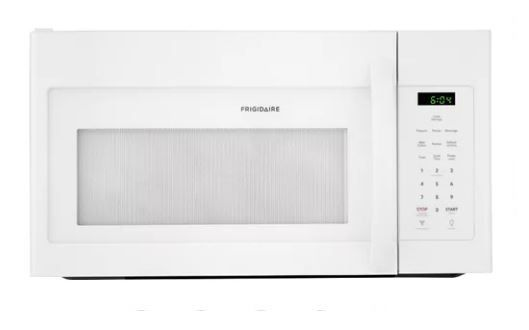 Frigidaire Ffmv1645tw 1 6 Cubic Foot White 1000 Watt Over The