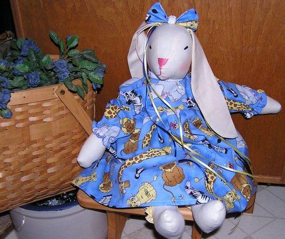 Muslin Bunny