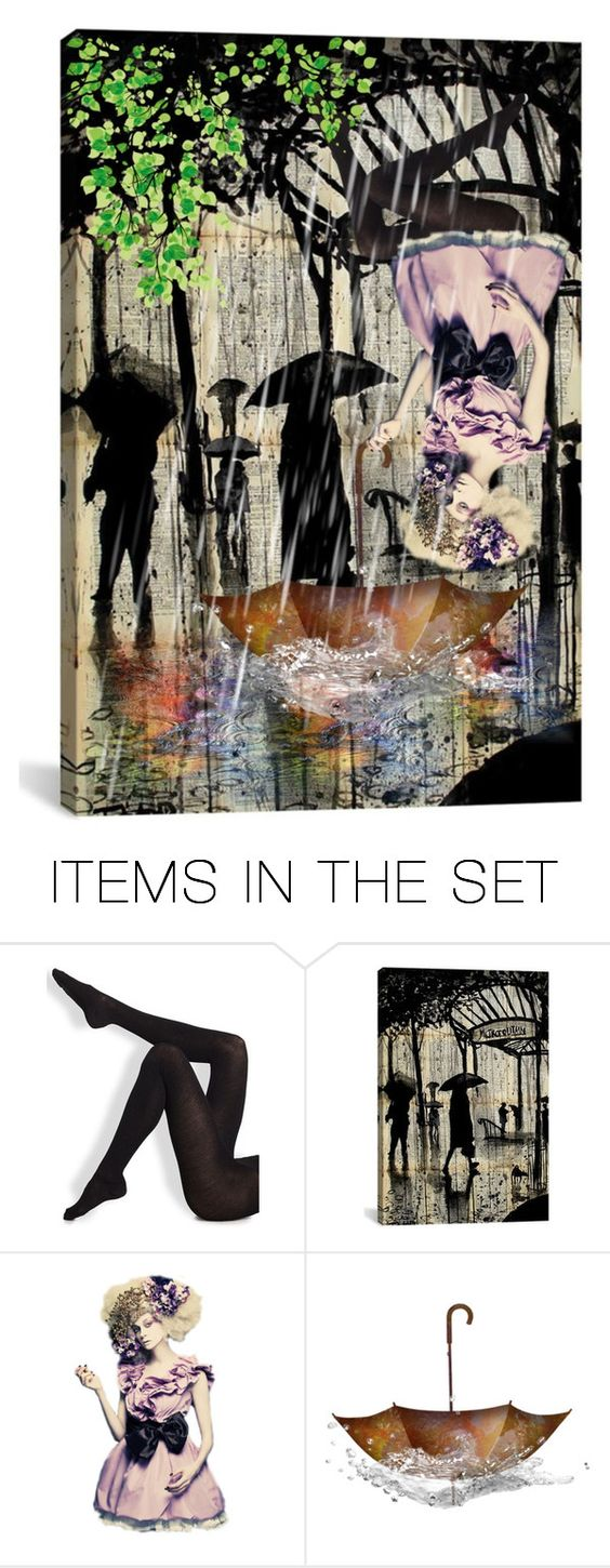 """""""Upside Down... In the Rain"""" by maryv-1 ❤ liked on Polyvore featuring art"""
