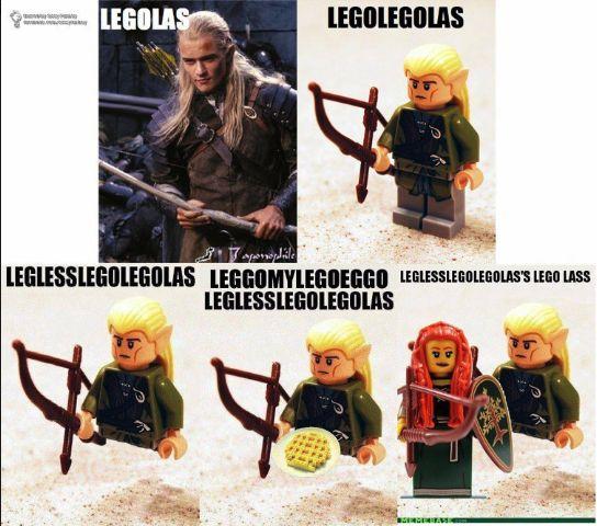 LOTR trivia: a brief history of Legolas...