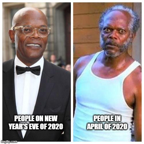 Samuel L Jackson Before And After In 2020 Samuel L Jackson Meme Laugh Jackson