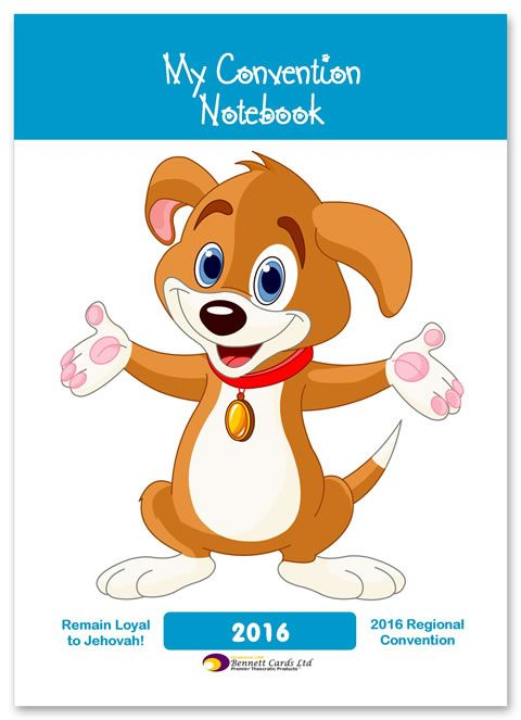 2016 Regional Convention Notepad - for Children - with Program