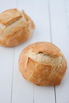 Tengo un horno y sé cómo usarlo   Recetas de cocina con fotos   Cocina paso a paso   Gastronomía  : Pan de hogaza rápido