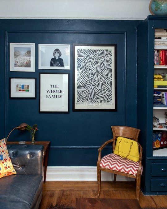 """Help What Color Should We Paint Our Living Room: Laura's """"English Library"""" Room~Benjamin Moore Gentleman's"""