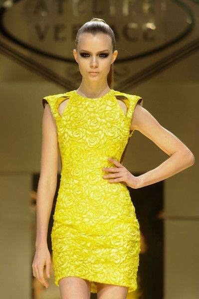 #yellow #fashion #moda #tendencia #trend #moda #lookdodia #amarelo #versace
