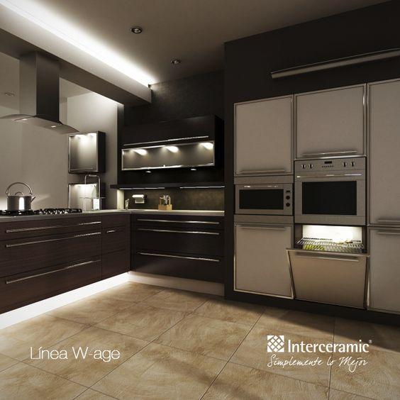 W age de interceramic pisos para cocinas pinterest for Azulejos para cocina interceramic