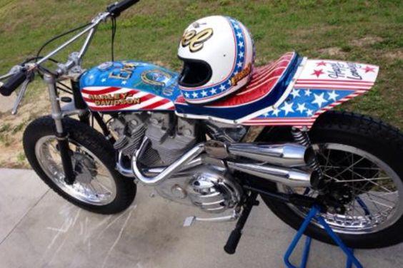 Evel Knievel 1200: Evel's Famous Harley-Davidson XR-750