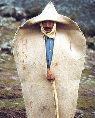 Kepenek, Vestuario típico de los pastores, Turquía