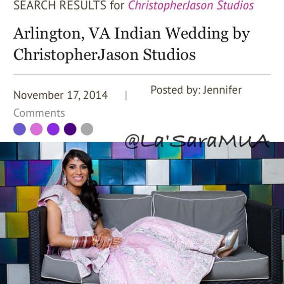 So delayed, but my bride was featured on @maharaniweddings website in November. Check it out! Her entire wedding was fabulous! Blog date: 11-17-14  #maharaniweddings #brides #weddings #makeupartist #motd  #mua  #igmakeup #instamakeup #makeupdolls #makeupmobb #instaglam #makeuplover #ilovemakeup #makeupbyme #makeup #beauty #beatthatface #iloveigmuas #beautyguru #instamakeup #glam #indianweddings