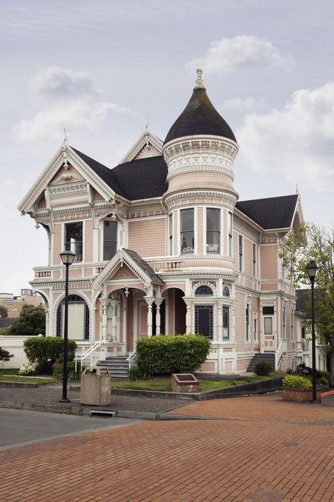 How A Colorful Home Can Skyrocket Curb Appeal Old Victorian Homes Victorian Homes Victorian Farmhouse