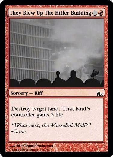 MST3K Magic the Gathering card created by Don Lee