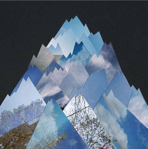 Liesl Pfeffer Collage Landscape Fine Art Landscape Photography Creative Landscape