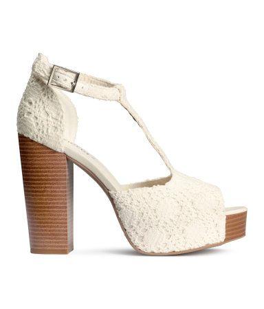 H&M Platform sandals £24.99