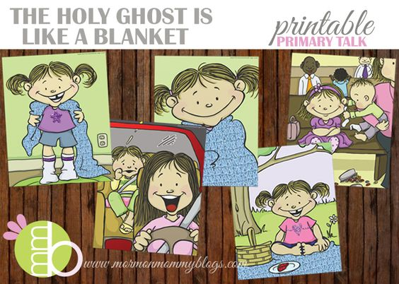 The Holy Ghost is Like a Blanket - Quick and Easy FHE Lesson | Mormon Mommy Blogs
