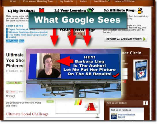 FREE!  The 4 Gloriously Simple Steps To Making Your Content Irresistible To Google: Part 1  I just wrote this this morning for a grand viral share...hope you click on the picture and love it!  Speaking of this morning, when I finished, http://pinterest.com/pin/188940146837338596/ was on my menu....