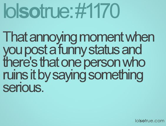 Hate that!
