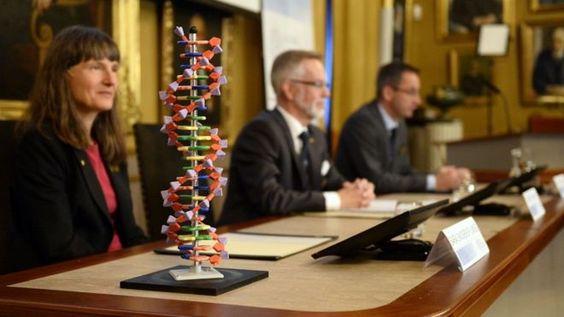 Nobel news conference in Stockholm