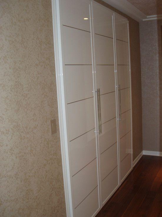 Puertas de closet ideas para el hogar pinterest for Ideas para puertas de closet