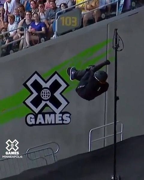 Sportscenter On Instagram The First 1260 In Skateboard History Mitchiebrusco84 Did That Sctop10 Via Xgames Sportscenter History Skateboard