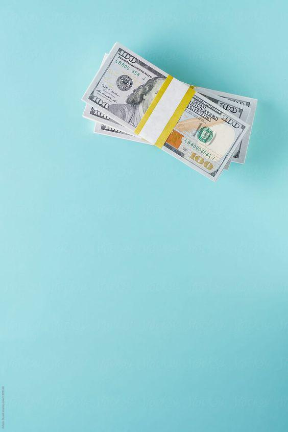 100 Dollar Bills Stacks Colorful Money Stacks At The Desk Enjoy Money Money Bill Money Stacks Money Cash