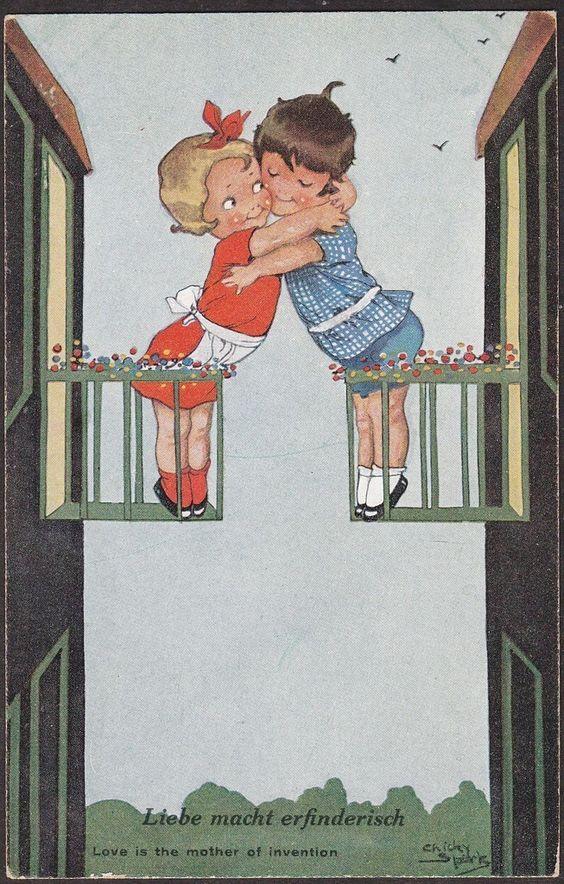 Chicky Sparks postcard | eBay: