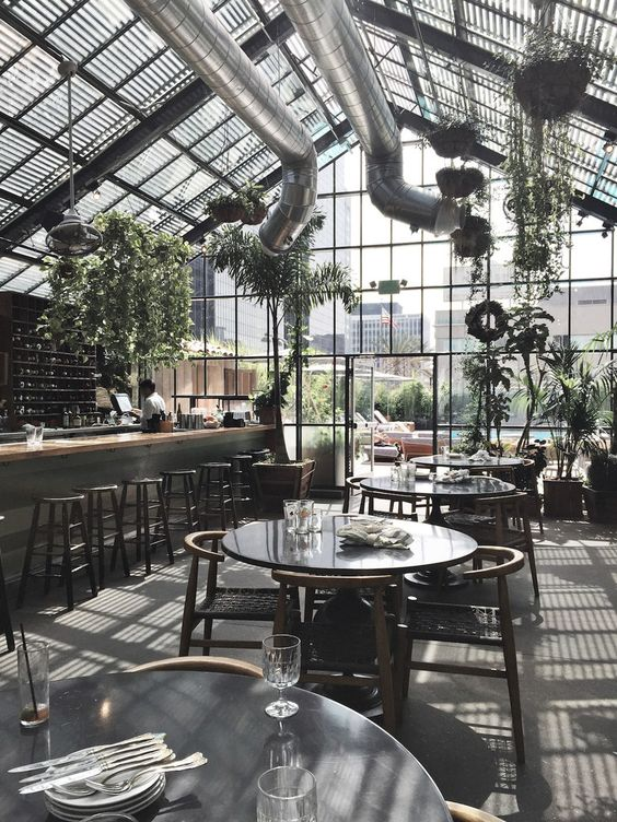 Commissary at the line hotel los angeles design greenhouses and angeles - The line hotel los angeles ...