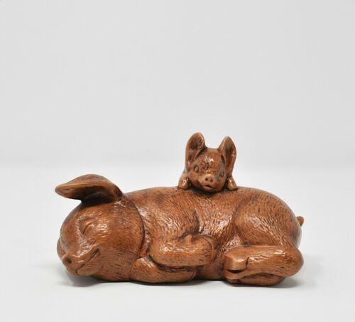 Hagen Renaker Mini 85 Piglet Standing Miniature Ceramic Baby Pig Figurine Ebay In 2020 Pig Figurines Figurines Baby Piglets