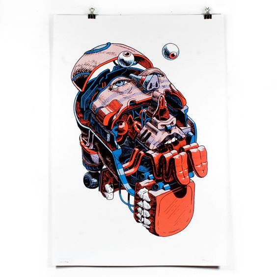 Corpus Dream / Art print.