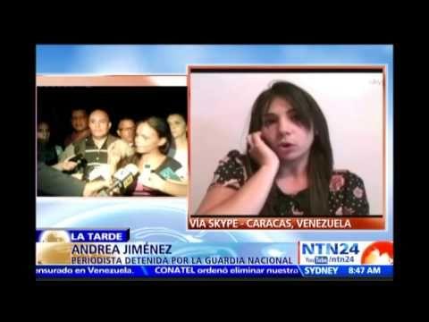 Periodista relata en NTN24 cómo funcionarios de la GN la amenazaron con ...