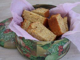 Pumpkin rusks