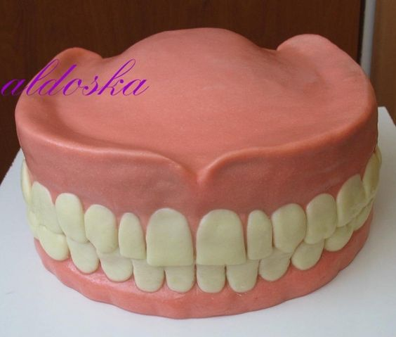 dentures cake ~ freaking hilarious!!! Love this for guy's 50th+ birthday. Not good idea for a woman lol