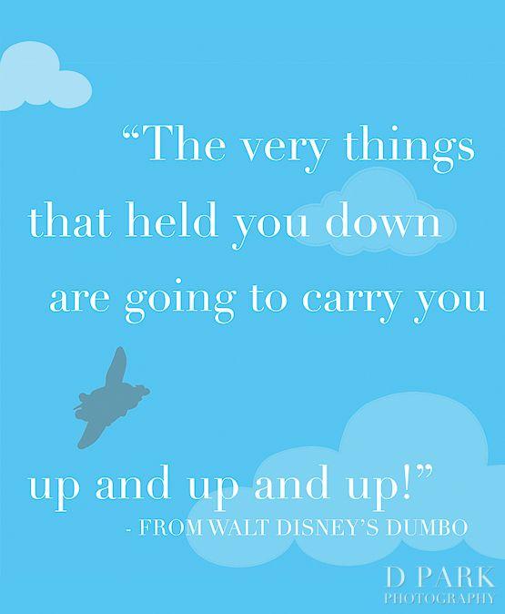 Dumbo Quotes Glamorous Disney Dumbo Quote Vinyl Wall Decal Nursery Heaven Baby  Dumbo . Design Inspiration