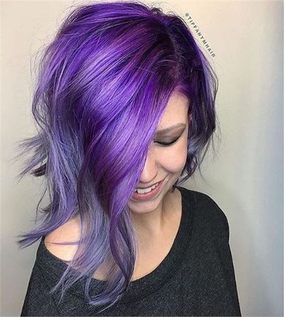 Ultra Violet: How Pantone's Color of the Year Translates to Hair Color. - Hair Color - Modern Salon