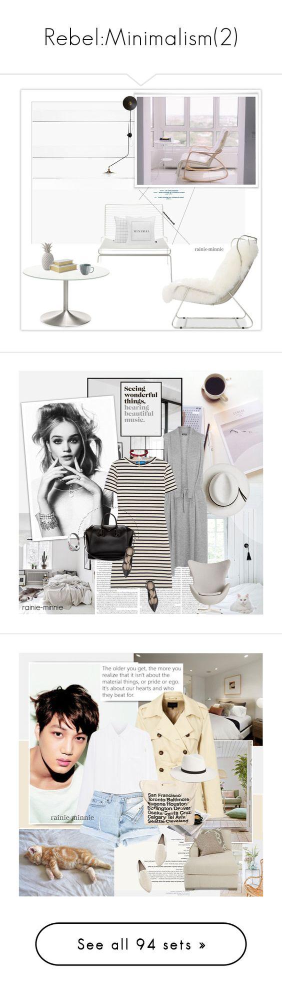 """Rebel:Minimalism(2)"" by rainie-minnie ❤ liked on Polyvore featuring minimalism, personalstyle, rainieminnie, interior, interiors, interior design, home, home decor, interior decorating and HAY"