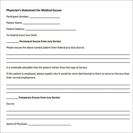 Sample Doctor Note   Free Documents In Pdf Word  Homes